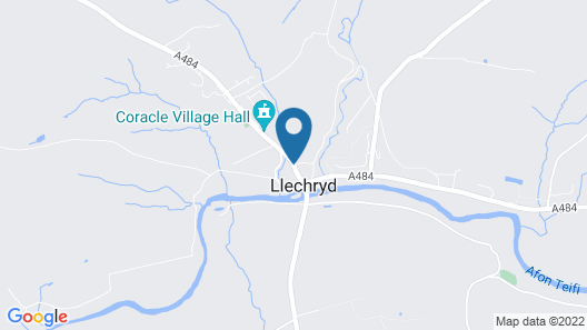 Flambards Hotel and Tearooms Map