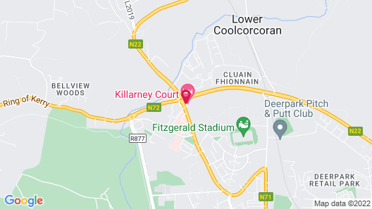 Killarney Court Hotel Map