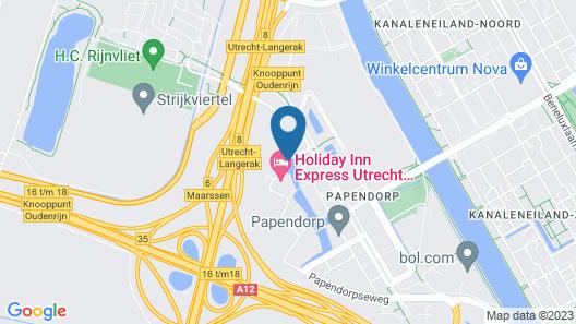 Holiday Inn Express Utrecht - Papendorp, an IHG Hotel Map