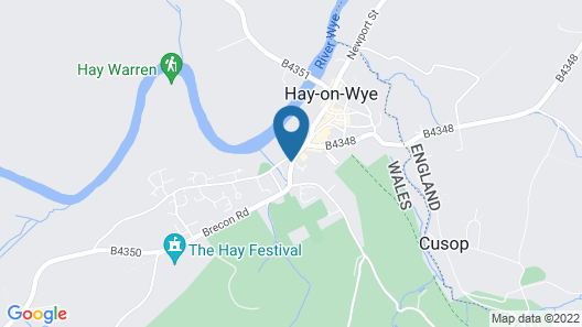 The Swan at Hay Hotel Map