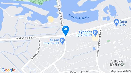 Hampton by Hilton Brest Map