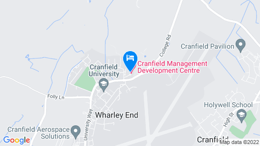 Cranfield Management Development Centre Map