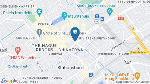 Mercure City Den Haag Central Hotel Map