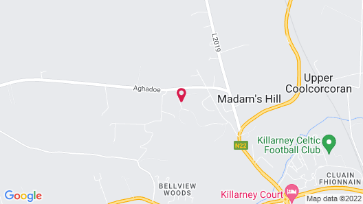Old Killarney Cottages Map