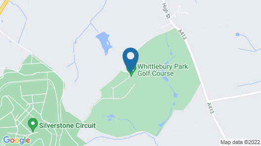 Whittlebury Hall Hotel & Spa Map