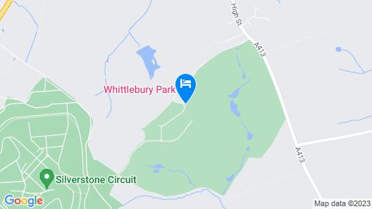 Whittlebury Hall Hotel & Spa Map