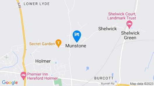 Munstone House Hotel Map