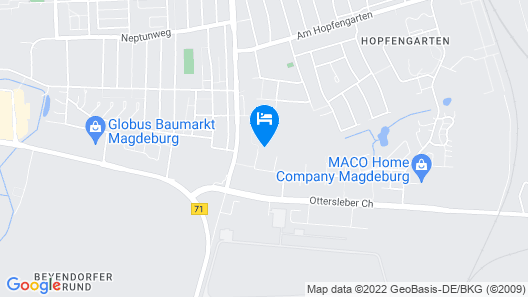 City Inn Magdeburg Map