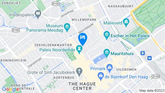 Mövenpick Hotel The Hague Map