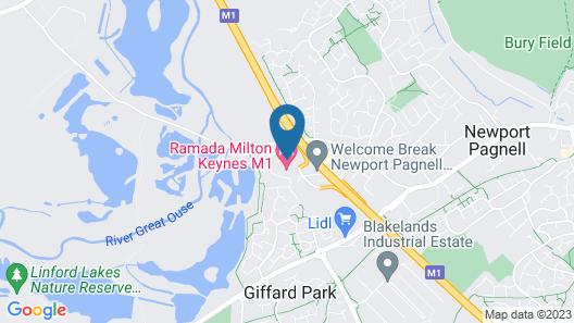 Ramada by Wyndham Milton Keynes Map