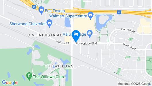 Hampton Inn Saskatoon South Map
