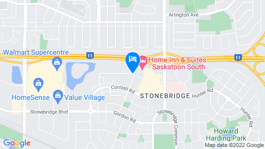 TownePlace Suites by Marriott Saskatoon Map