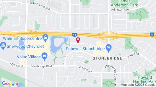 Home Inn & Suites Saskatoon South Map