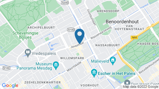 Hotel Studio's Archipel Map
