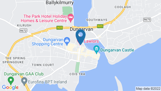 Lawlors Hotel Map
