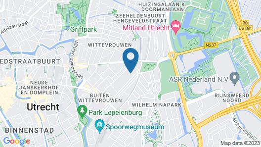 Malie Hotel Utrecht Map