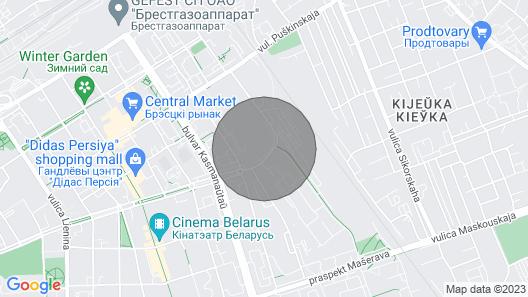 Apartments Gogolya center Map