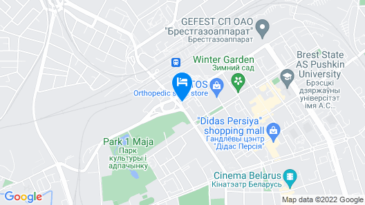 Hotel Bug Brest Map