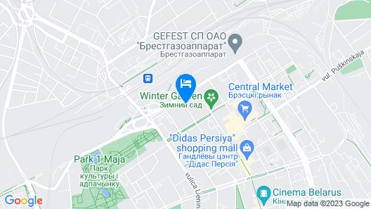 Hotel Molodezhnaya Map