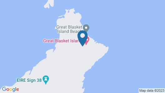 Great Blasket Island Accommodation Map
