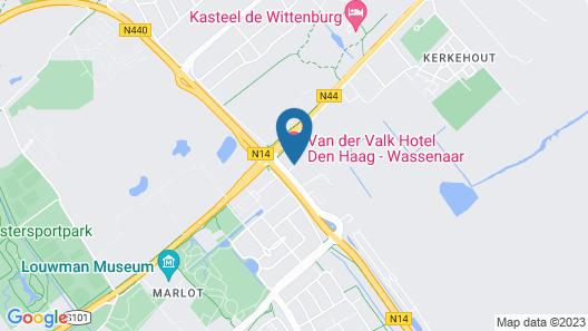 Van der Valk Hotel Den Haag Wassenaar Map