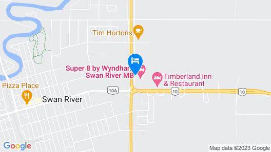 Super 8 by Wyndham Swan River MB Map