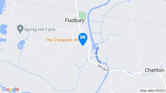 Chequers Inn Map