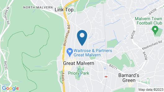 Malvern Holiday Garden Flat Map