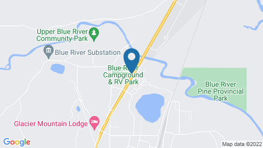 Blue River Cabins Campground & RV Park Map