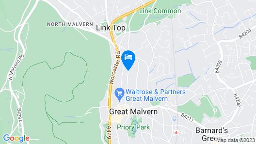 Cotford Hotel Map