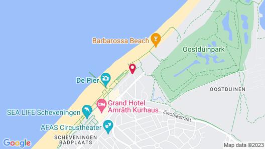 Carlton Beach Map