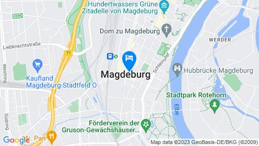 Limehome Magdeburg Hasselbachplatz Map