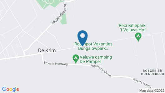 Nicely Furnished Bungalow With Dishwasher, in De Veluwe Map