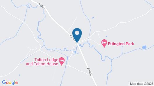 Ettington Park Hotel Map