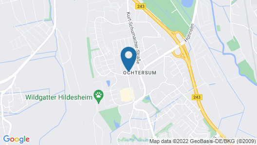 Hotel Am Steinberg Map
