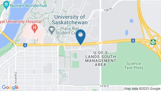 Staybridge Suites Saskatoon - University Map