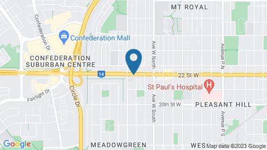Westgate Inn & Suites Map