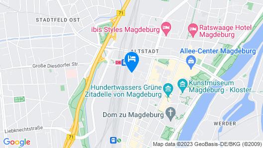IntercityHotel Magdeburg Map