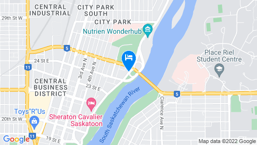 Park Town Hotel Map