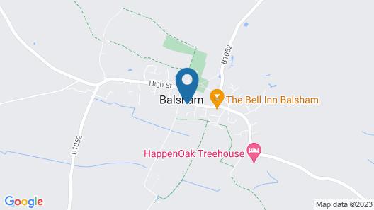 The Black Bull Inn Map