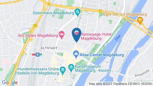 ibis Styles Magdeburg Map