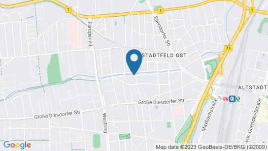 Best Western Hotel Geheimer Rat Map