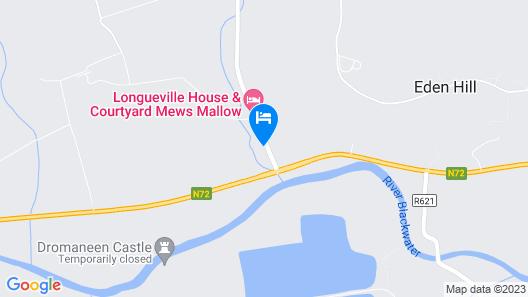 Longueville House Map