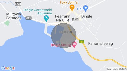 The Boatyard House Dingle Map