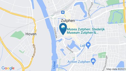 Hampshire Hotel - 's Gravenhof Zutphen Map