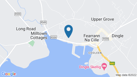 Dingle Harbour Lodge Map