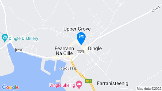 Dingle Benners Hotel Map