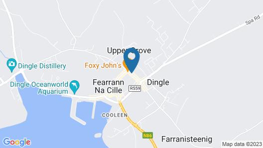 Barr na Sraide Inn Map