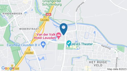 Van der Valk Hotel Leusden - Amersfoort Map