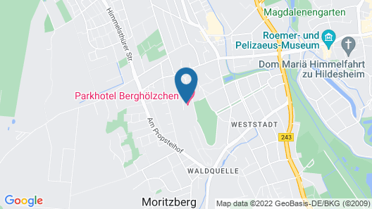 Parkhotel Berghoelzchen Map